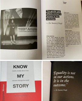 Excerpts from the book 'Know my story' that showcase my talk at TEDxAmsterdamWomen 2018