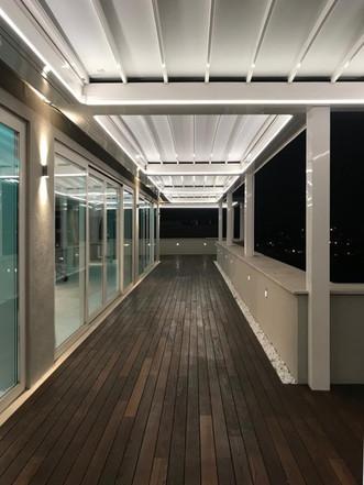terrazzo, balcone, pergotenda,