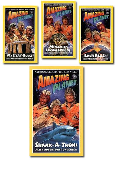 Amazing Planet Video Series