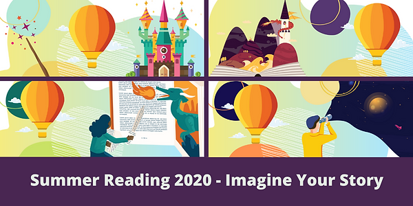 Summer Reading 2020 - Imagine Your Story