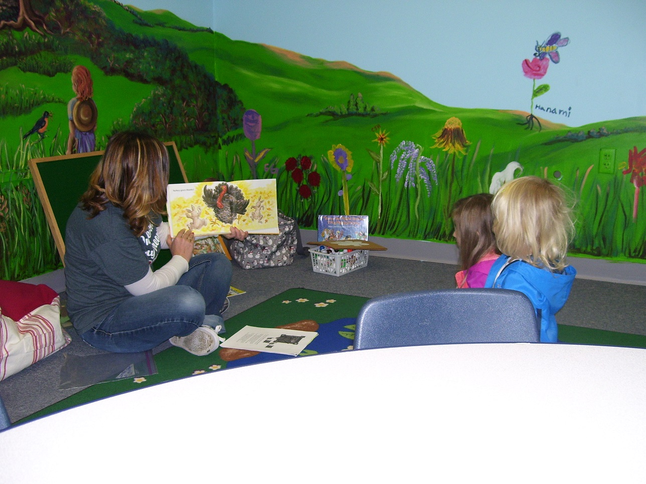 Beth and the little kids_Story Hour