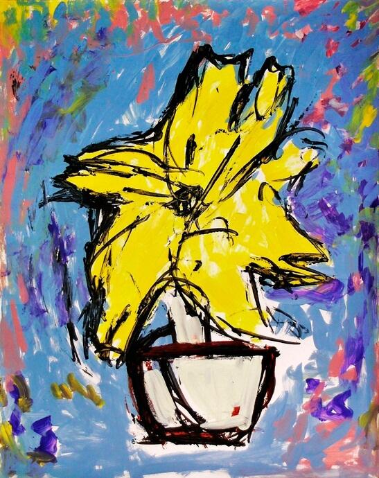 """THE BIG YELLOW FLOWER"""