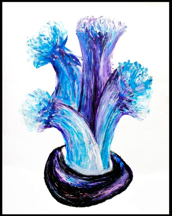 """""""THE BLUE FLOWERS"""""""