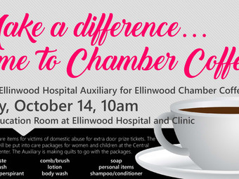 Auxiliary hosts Chamber Coffee
