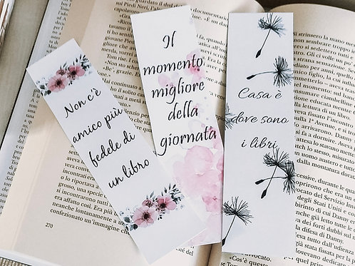 Trio of Bookmarks - without rope