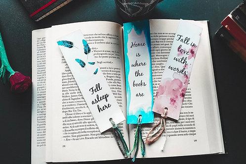 Trio of Bookmarks