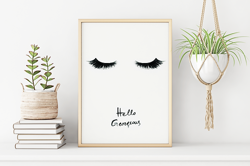 HELLO GORGEOUS - EYELASHES