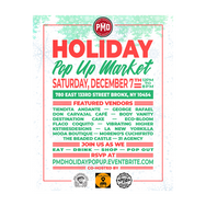 PMD's Holiday Pop Up Market