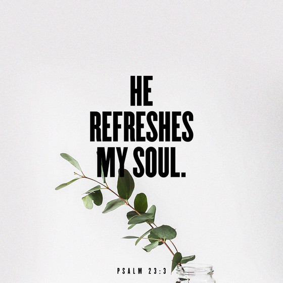 Refreshing from Him