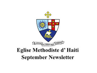 Eglise Methodiste d' Haiti September Newsletter