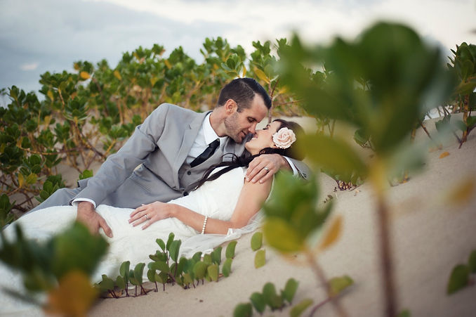 Arrive by water to the main beach for your ceremony - phot by James Carlson