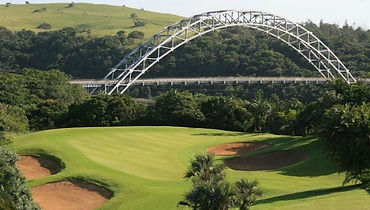Wild coast golf course near Umtamvuna River Lodge