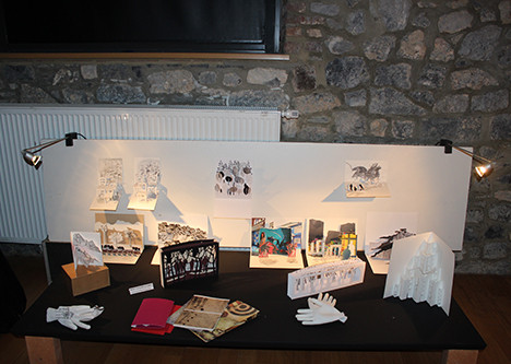 Notre expo au Centre Culturel de Beauraing