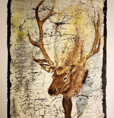 Winter Elk (sold)