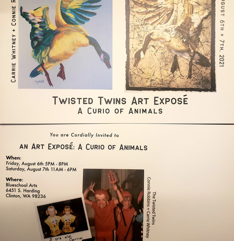 Twisted Twin Art Expose