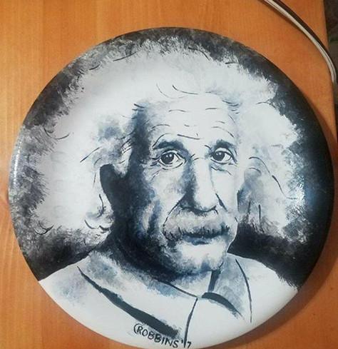 Einstein plate (not for sale)