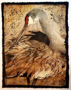 Sandhill Crane (Beauty Bird series) (sold)