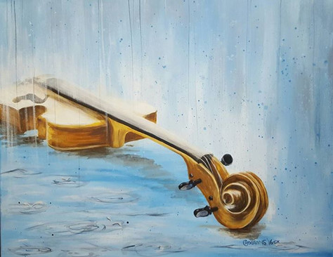 Music in the Rain (sold)