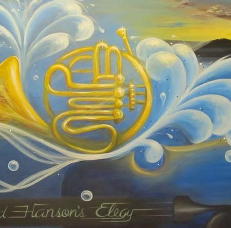 Howard Hanson's Elegy (sold)