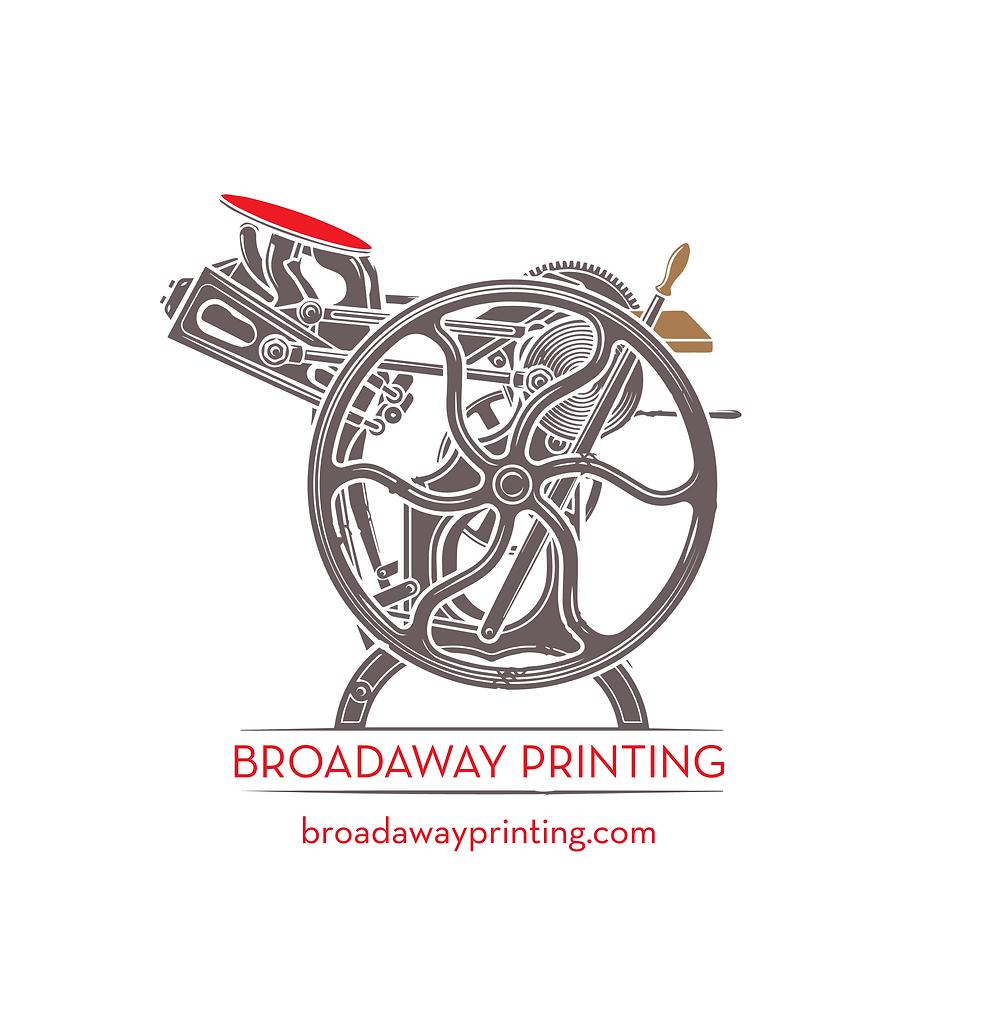 Broadaway Printing Logo