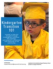 Kindergarten Transition 101 - English Ve
