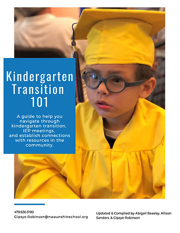 Kindergarten Transition 101 - English Ve