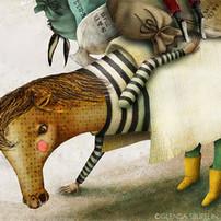 L'asino e il cavallo (the donkey and the horse)