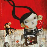 La bambina con l'orecchio esagerato (The girl with the exaggerated ear)