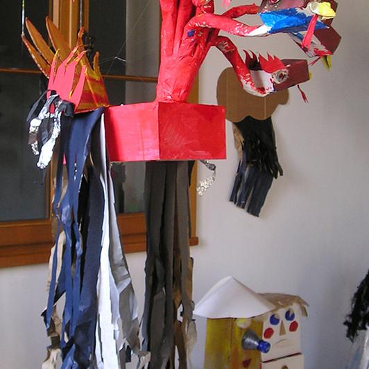 FIABE IN SCATOLA: L'uccello a nove teste