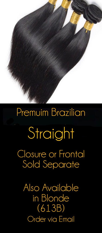 Straight Brazilian Mink Bundles