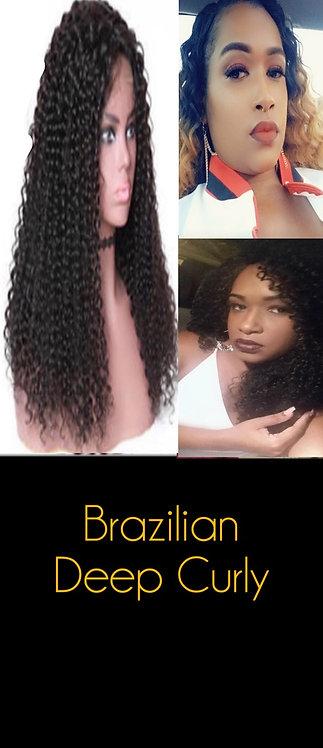 Curly Brazilian Wig -The Katia
