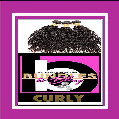 Curly Brazilian Mink Bundles