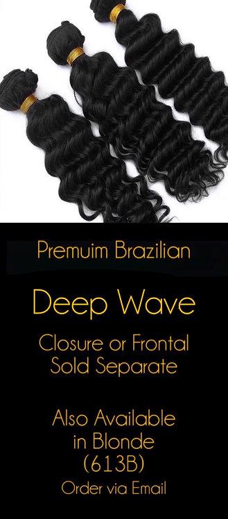 Deep Wave Brazilian Mink Bundles