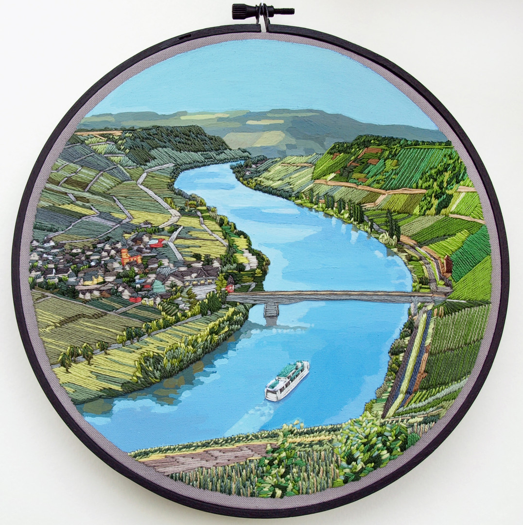 Mosel River, Luxembourg