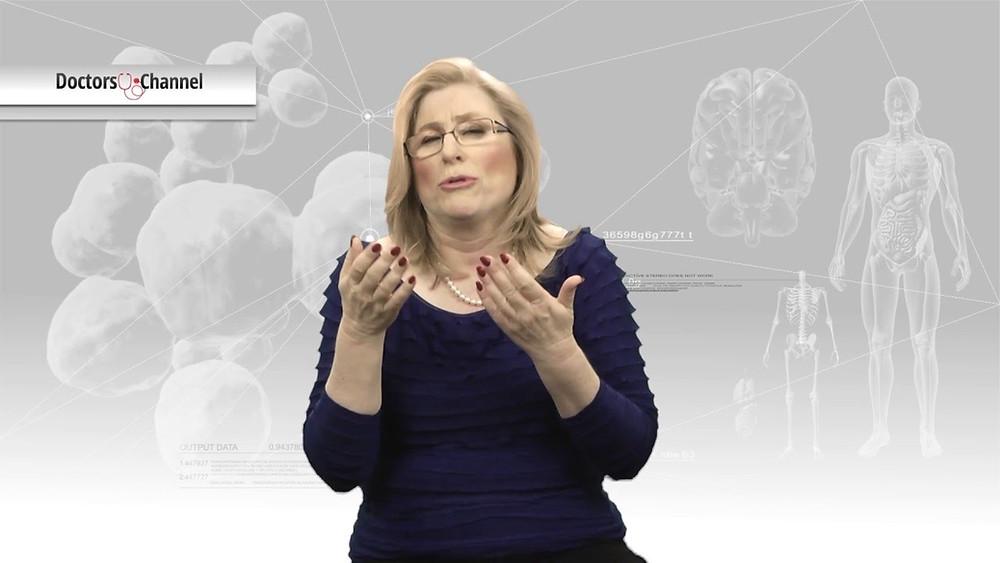 """דר' אילנה שלזינגר נוירוכירורגית בכירה מנהלת המכון להפרעות תנועה בבית החולים רמב""""ם בחיפה סקרה בפנינו נושאים רפואיים הקשורים למוח והתמקדה בשיטות לריפוי מחלת פרקינסון"""
