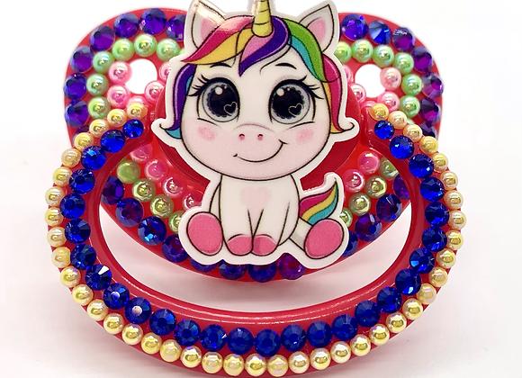 Rainbow Unicorn Paci