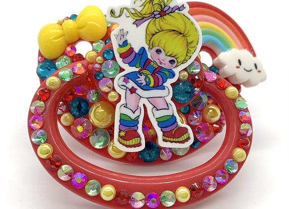 Happy Rainbow Brite Paci