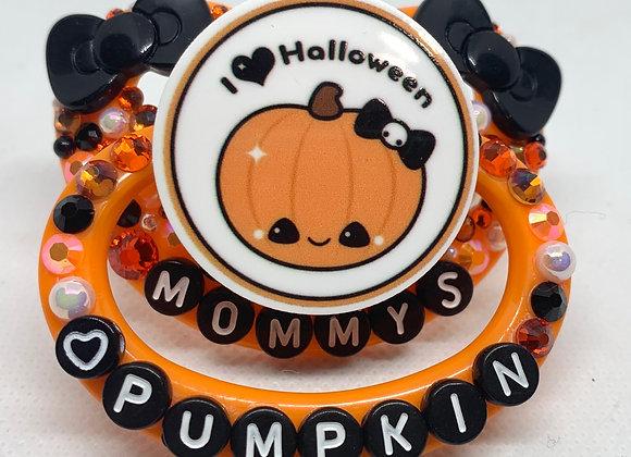 Mommy's Pumpkin Paci