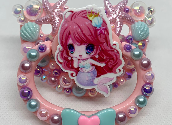 Little Mermaid Bubble Paci
