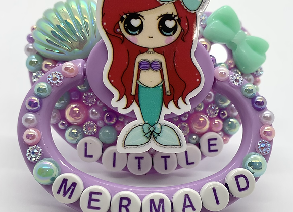 Little Mermaid Pacifier