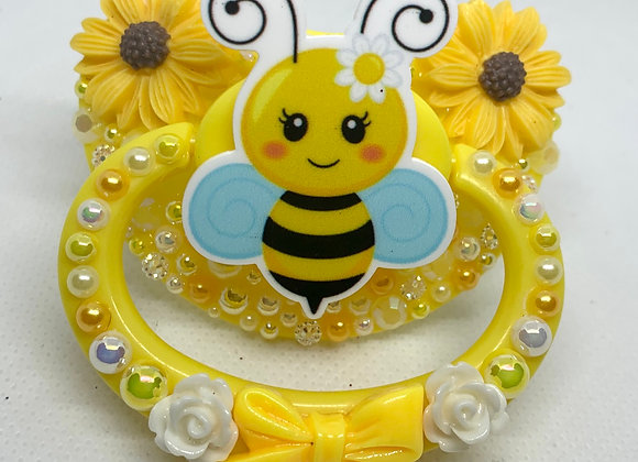 Sunflowers and Bumblebee Paci