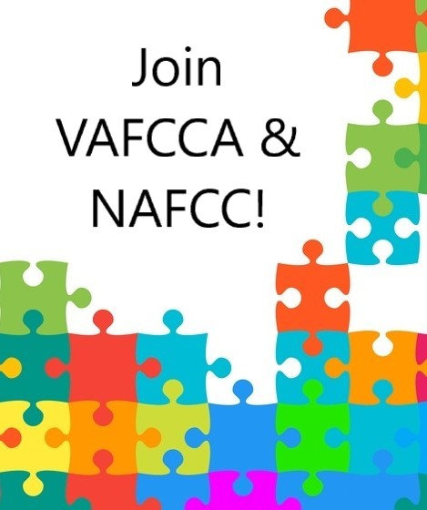 Membership-One year for VAFCCA and NAFCC