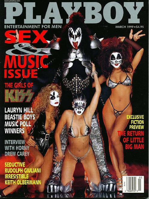 Cindy Guyer Signed Playboy Magazine
