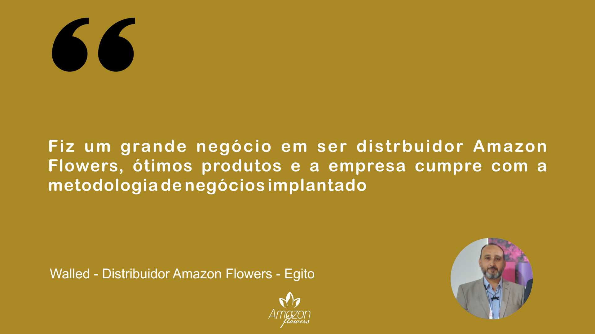 Walled - Distribuidor Amazon Flowers - Egito