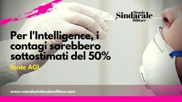 Per l'Intelligence, i contagi sarebbero sottostimati del 50%