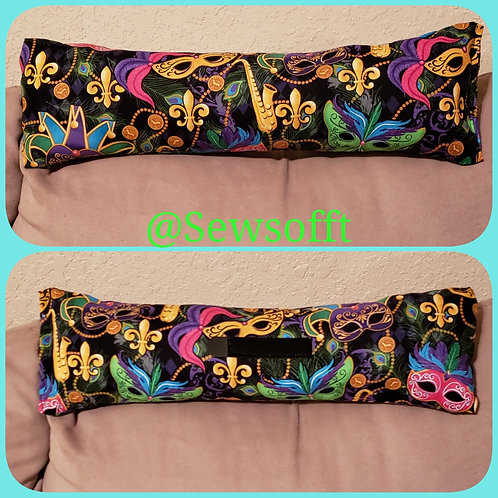 Mardi Gras inspired Needle Pillow