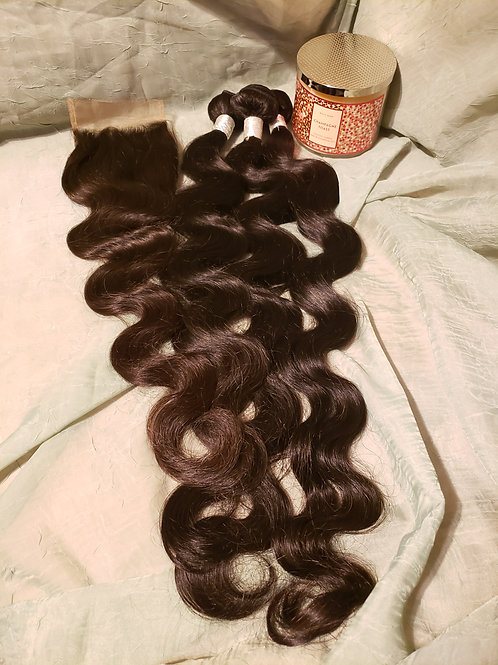 "30"" 3 Bundle Virgin hair deal"