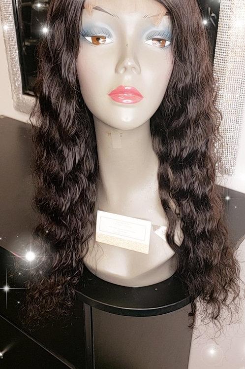 Custom machine sewn Ready to wear wig unit