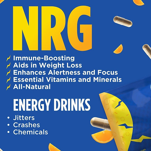 NRG Natural Raw Energy 2 for $7