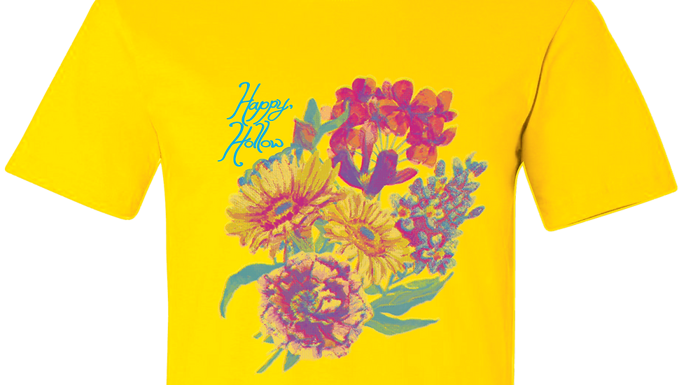 Flowers Tee Yellow
